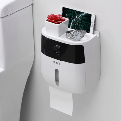 Toilet paper dispenser with drawer - waterproof