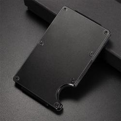 Mini credit card holder - metal wallet