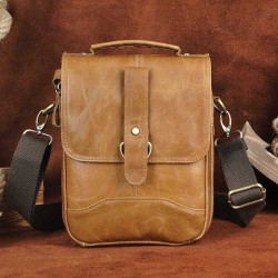 Leather crossbody - shoulder bag