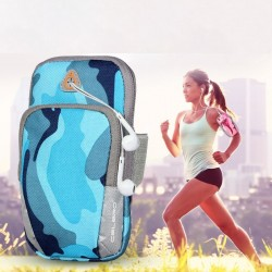 Universal sport armband - pouch with zipper