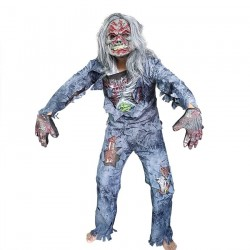 Zombie - full body costume for Halloween - set