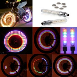 Bicycle wheel LED colorful flashing light