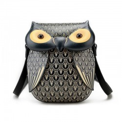 Fashion owl design - shoulder & crossbody mini bag