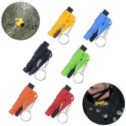 3 in 1 Mini safety emergency hammer - seat belt cutter - window breaker