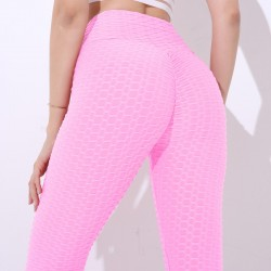 Slimming pants - anti-cellulite leggings with push up - high waist