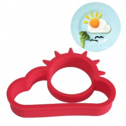 Sun & cloud egg mold - silicone