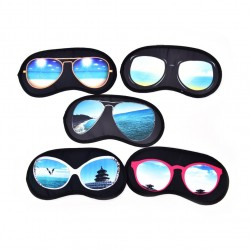 Sleeping mask with sunglasses pattern - eye mask