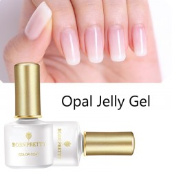 Opal jelly - nail varnish - white soak off UV polish gel 6ml
